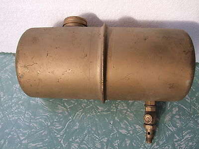 Vintage Stationary Engine Tank 9.25 Inch  With Tap #2