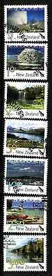 D1-New Zealand-Sc#2129-35-used set-Tourist Attractions-2007-
