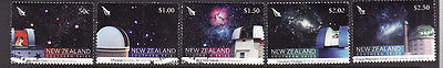 D1-New Zealand-Sc#2139-43-used set-Southern Skies,Observatories-2007-