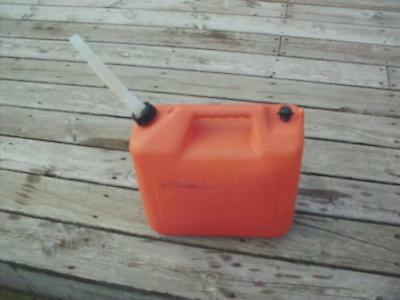 Wedco 5 Gallon Plastic Gas Can ~ Vented ~ Pour Spout ~