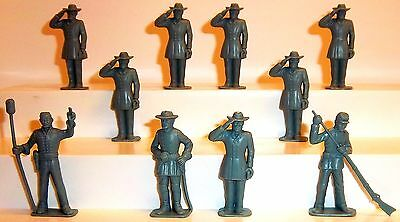 Toy Soldiers Marx Warriors Of World American Civil War Confederates General Lee