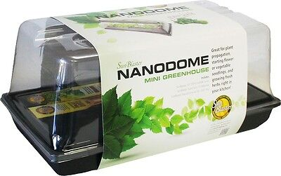Complete  Mini Greenhouse Kit NanoDome, Sunblaster T5 Light SAVE $ W/ BAY HYDRO