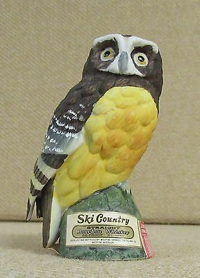 Ski Country, Spectacled Owl,  Miniature Liquor Decanter, 1975