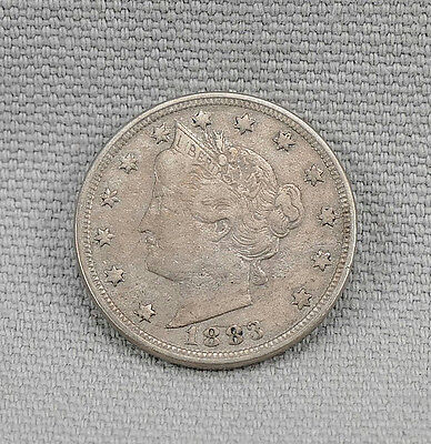 1883 Liberty Head Nickel! No Reserve!