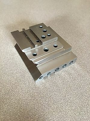MACHINIST TOOLS LATHE MILL Machinist Lath Block Plate Fixture for Set Up