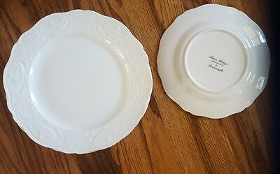 Adam Antique Steubenville (12 total) Cream 1930s luncheon plate 9inches