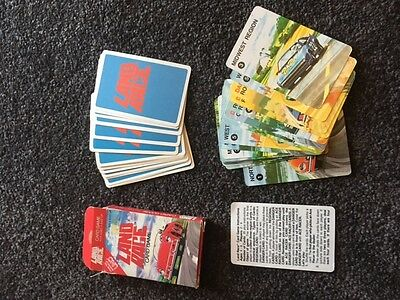 Land Race Cards – Very Rare , From The Makers Of Uno. 1983