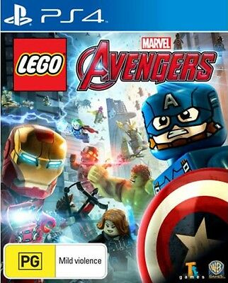 LEGO AVENGERS  Sony Playstation 4 PS4 GAME + Booklet