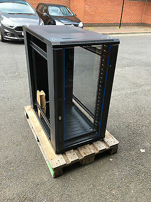 "19"" Inch Server Rack Case Cabinet - 22U 1000mm Deep Audio Club Disco Pub Bar"