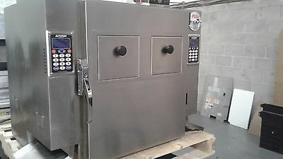 Autofry MTI-40C Double Fryer Single Phase MFR Date 2016  (perfect fry ventless)