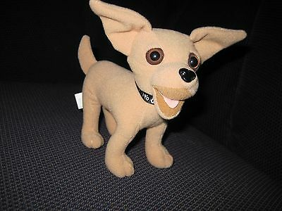 USED - Taco Bell Dog Chihuahua Figure Yo Quiero Taco Bell Toy Promo-(no talk)
