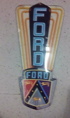 Ford Fairlane Vintage Style Metal Sign 22 By 9 Inches Raised Letters Gas Shop