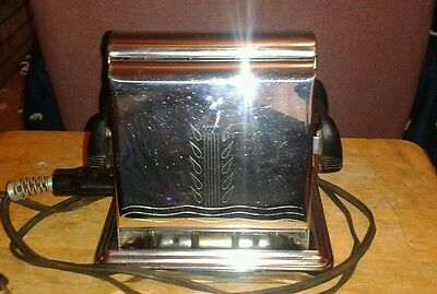 Vintage Dominion Electric Co. Toaster model #1109 with cord 1930'S - Works Great
