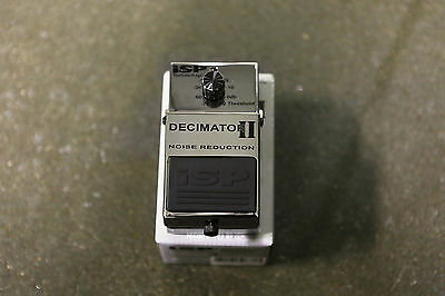 ISP Technologies Decimator II Noise Reduction Pedal Hardly Used MINT CONDITION