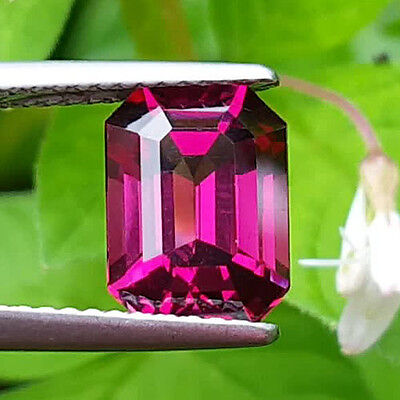 Premium Quality & Exceptional Beauty  3.00Ct Natural Tanzanian Rhodolite Garnet