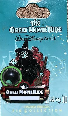 Rare 2008 LE WDW Piece Of Disney History III - The Great Movie Ride POH Pin