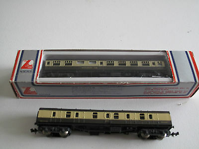 N Gauge 63ft Mainline coaches Set of 2 Lima GWR setgwr2