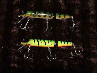 Lot of used musky pike lures crankbait lure terminator t3