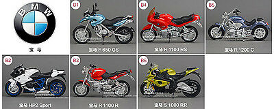 1:18 Mini BMW motorcycle model A variety of options, please leave a message