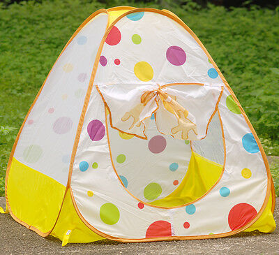 Playhouse Pool Pop Up Kid Canopy Children Garden Outdoor playtent Tent 10 Ball C