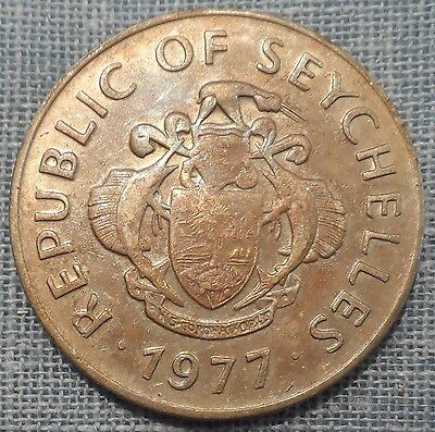 Seychelles  1977  1 Rupee Foreign Coin  Km#35
