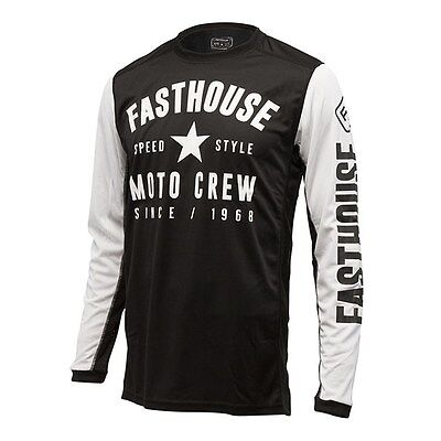 Fasthouse Speed Style L1 Off Road Dirbike Jersey Black