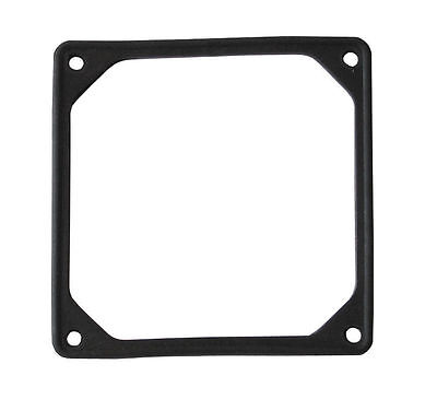 92mm Noise Reduction Fan Rubber Frame , Black