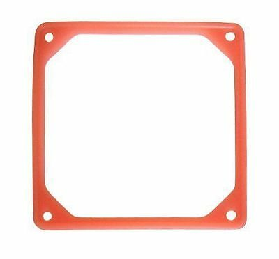 92mm Fan Noise Reduction Fan Rubber Frame (UV Red)