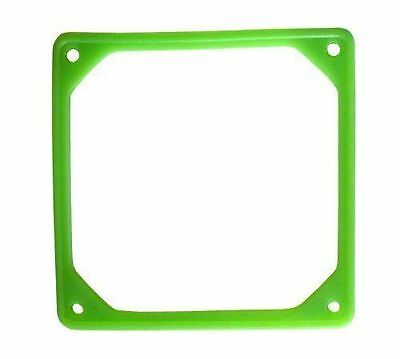 92mm Fan Noise Reduction Fan Rubber Frame (UV GREEN)