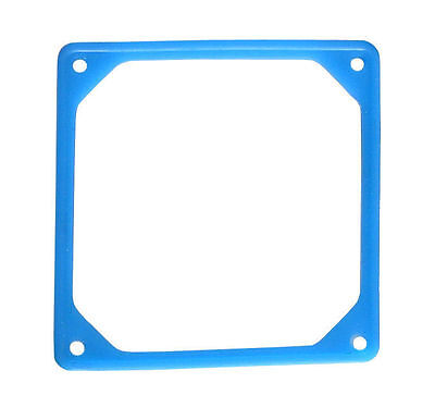 92mm Fan Noise Reduction Fan Rubber Frame (UV Blue)