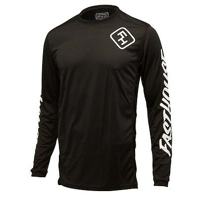 Fasthouse Grindhouse L1 Off Road Dirbike Jersey Black