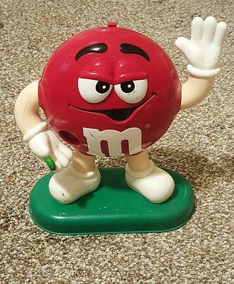 Red M&M candy dispenser