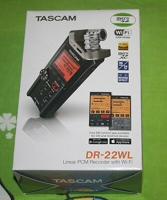 BRAND NEW Tascam DR-22WL Portable Handheld Recorder with Wi-Fi