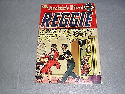 Archie's Rival Reggie Comics No. 1 1st Issue 1st Ed 1949 CLEAN GOOD CONDITION