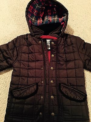 mini boden Quilted JacKet Sz 7-8
