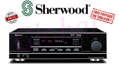 Sherwood RX5502 4 Ch Amplifier Receiver Home Amp PHONO A/B MULTISOURCE *RFB*