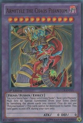 1x Armityle the Chaos Phantom - LCGX-EN211 - Ultra Rare - 1st Edition - Near Min