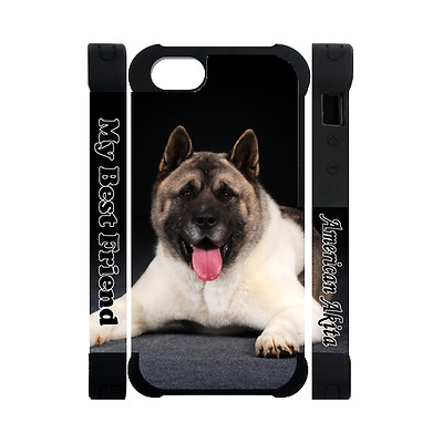 AMERICAN AKITA Photography Dog Puppy Lovers Gift 3D Rubber Polymer Iphone 5 Case