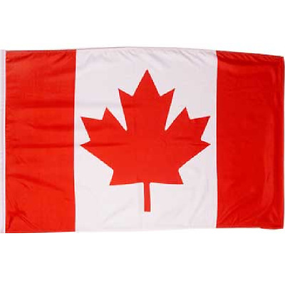 Canada Flag Large 4' x 6' High Quality 100% Polyester - Free Shipping