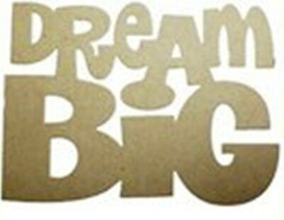 Die-versions - Dream Big metal die - for use in most cutting systems