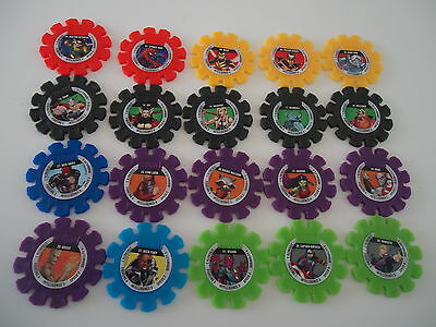 Woolworths Marvel Super Heroes discs x 29