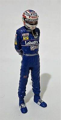 Top Model D35D - 1:18 Scale Nigel Mansell Driver Figure