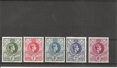 Swaziland 1938-54 KGV1 part Definitive Issue MNH