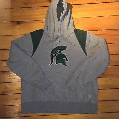 Nike Hoodie Michigan State Spartans M Embroidered NCAA Basketball Football