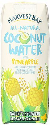 Harvest Bay Coconut Water (Flavored), 8.45 Ounce (Pack of 12)