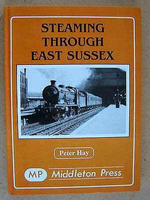 """steaming Through East Sussex."" Trains. Railways. Book."