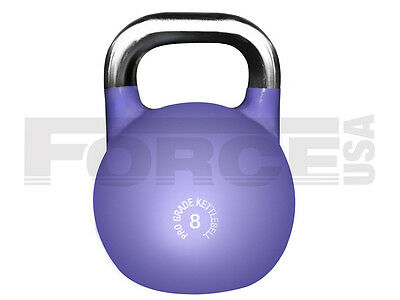 Brand New Force Usa Pro Grade Competition Kettlebell - 8 Kg