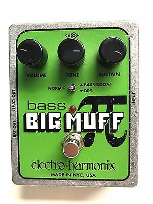 EHX Bass Big Muff PI, Bass Fuzz, Bass Effect Pedal