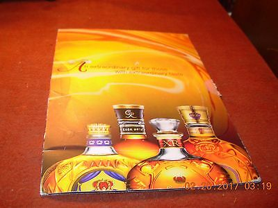 Crown Royal Seagrams Collectible DVD from The Society of the Crown Tasting