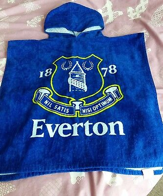 Everton kids towel poncho summer beach swimming